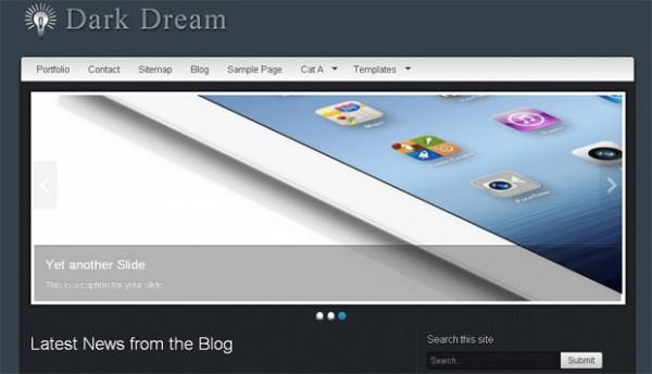 Dark-Dream-wordpress-theme