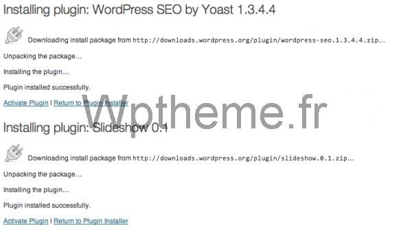Bulk Plugin Installation WordPress