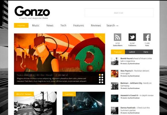 gonzo-wordpress-theme