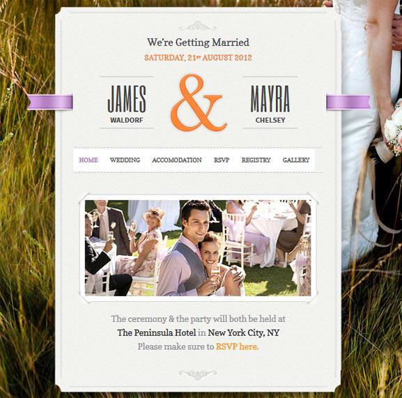 Just-Married-WordPress-Theme