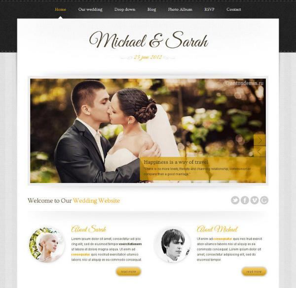 Marriage-Responsive-Wordpress-theme
