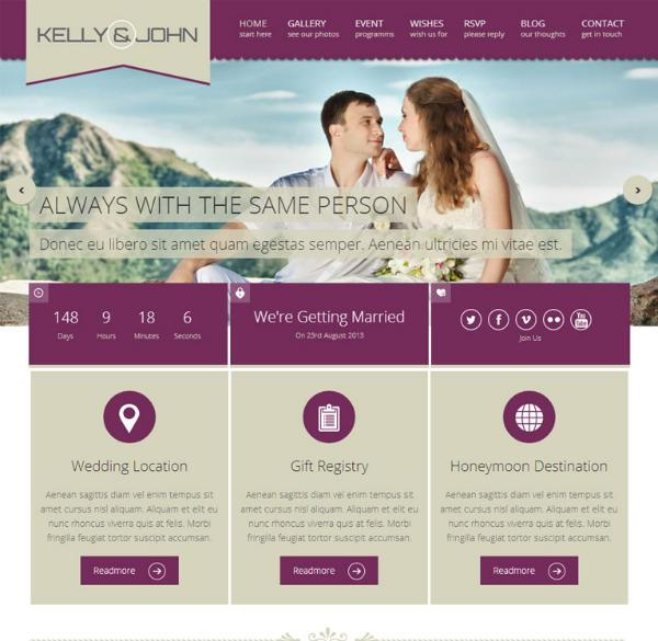 Soul-mariage-wordPress-theme