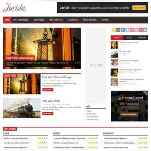 jarida-wordpress-theme