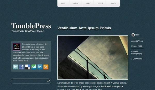 tumblepress-wordpress-theme