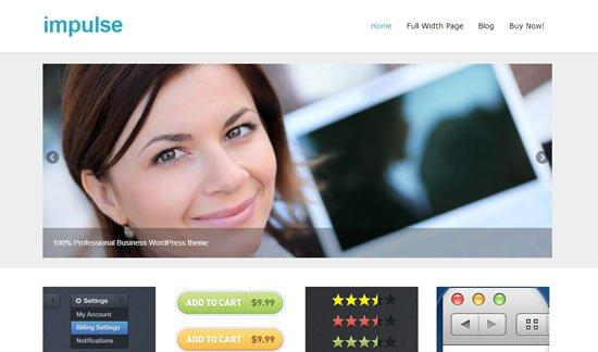 Impulse-wordpress-theme