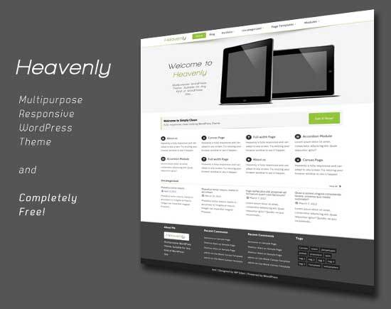 heavenly-wordpress-theme