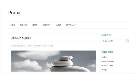 prana-wordpress-theme