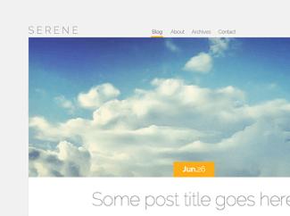 theme-wordpress-serene