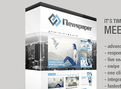 Thème WordPress Newspaper