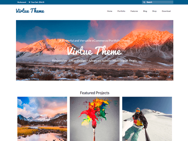 Virtue-wordpress-theme