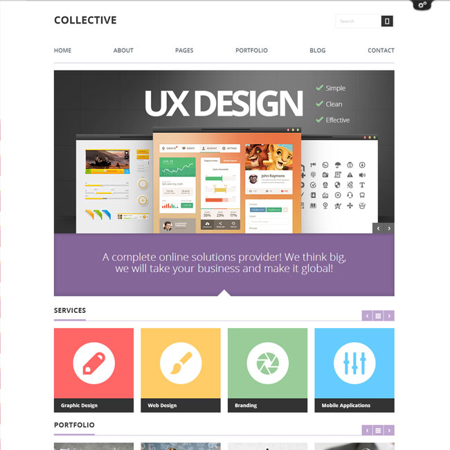 WordPress-Theme-Collective