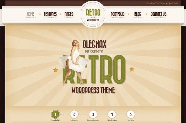 theme-wordpress-Retro