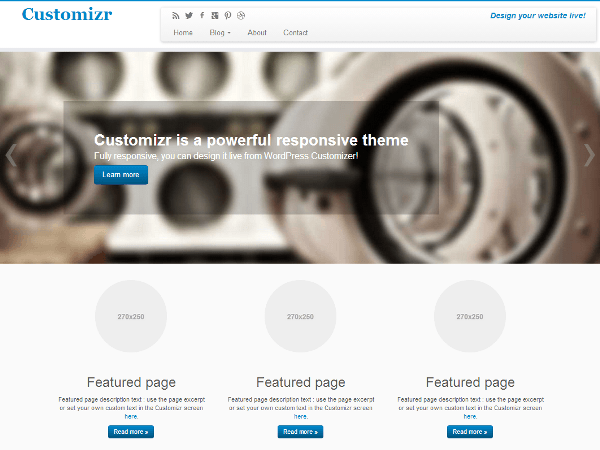 theme-wordpress-customizr