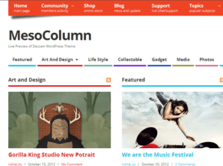 theme-wordpress-mesocolumn