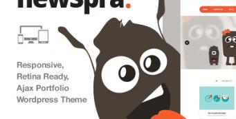 Thème WordPress NewSpra