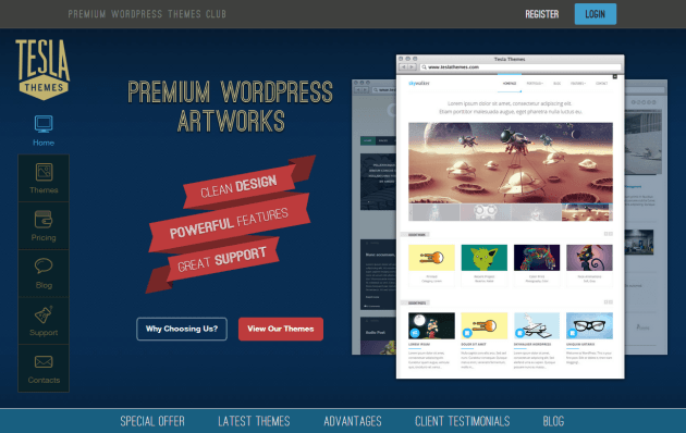 TeslaThemes-wordpress