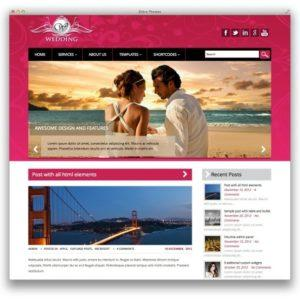 Wedding-theme-wordpress