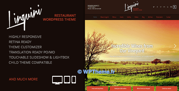 linguini-wordpress-theme