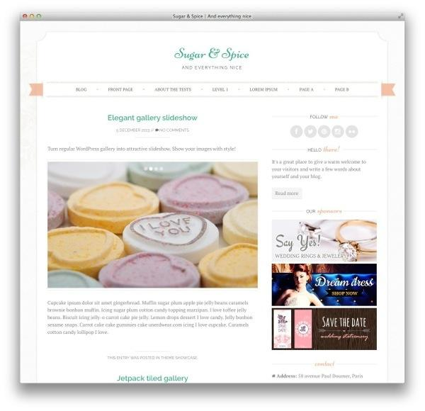 sugarspice-wordpress-theme