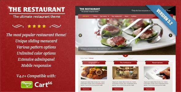 theme-wordpress-the-restaurant