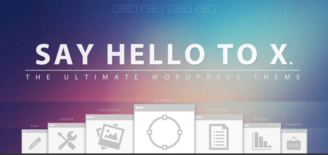 Theme WordPress X