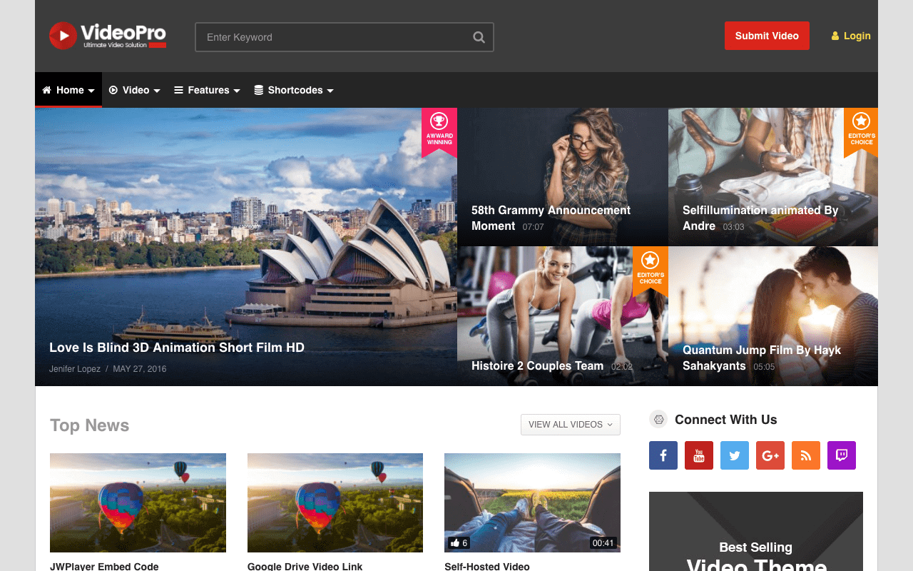 videopro-wordpress-theme-video