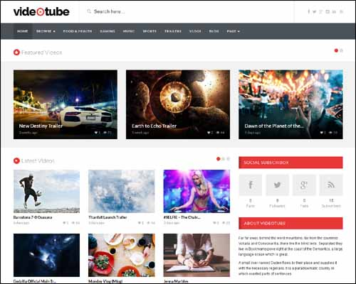 videotube-wordpress-theme