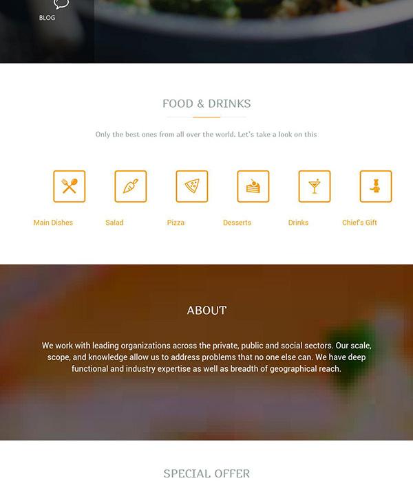 Créez un blog cuisine rapidement et élégamment avec TeslaThemes