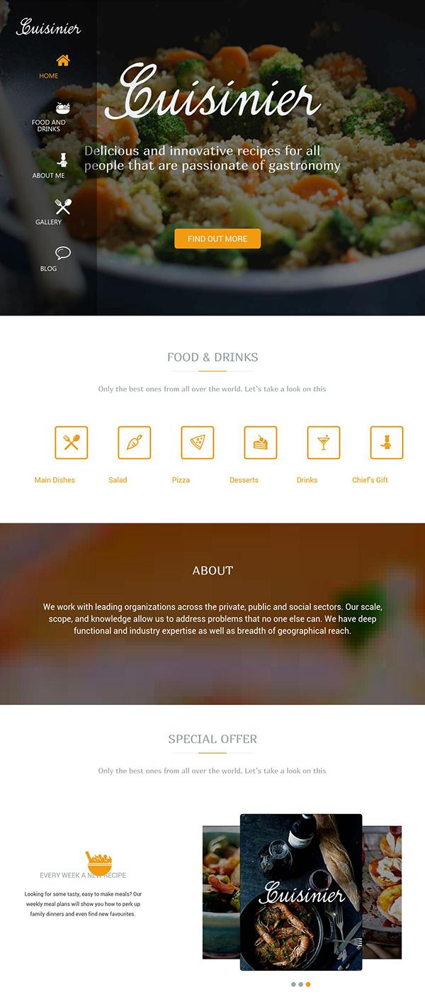 cuisinier-wordpress-theme
