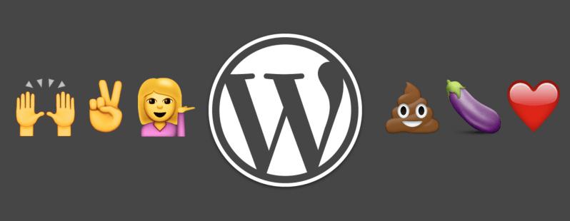 Utilisez les Emojis sur WordPress un peu partout 🐙