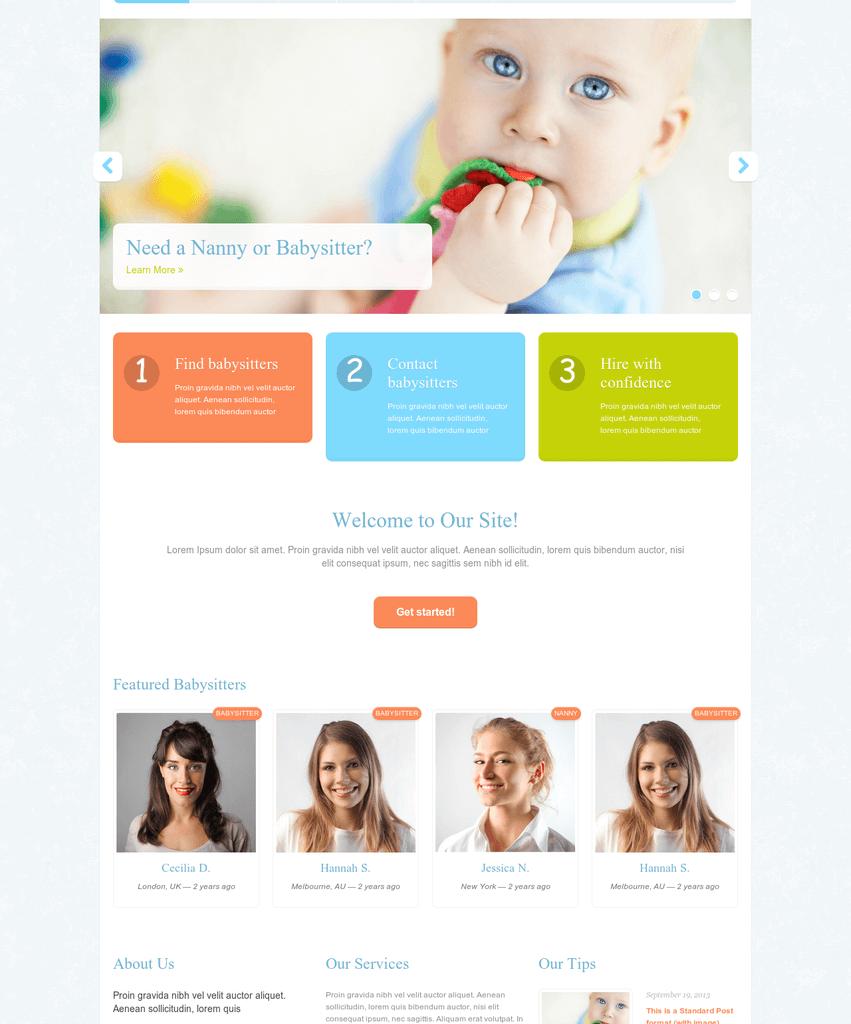 babysitter-job-wordpress-theme