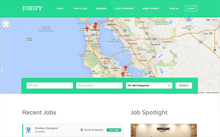 Meilleurs thèmes WordPress pour créer un site d'emploi