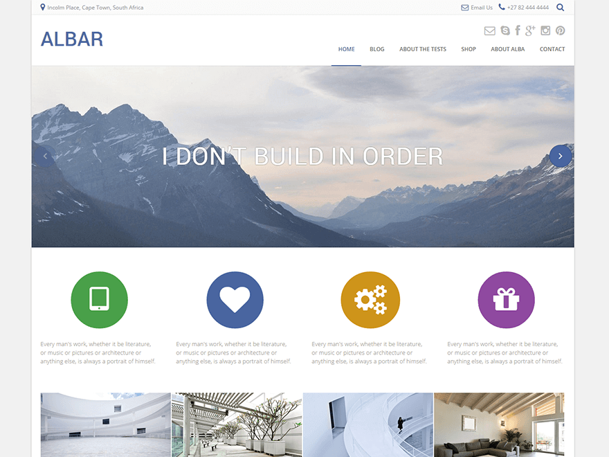 albar-wordpress-theme