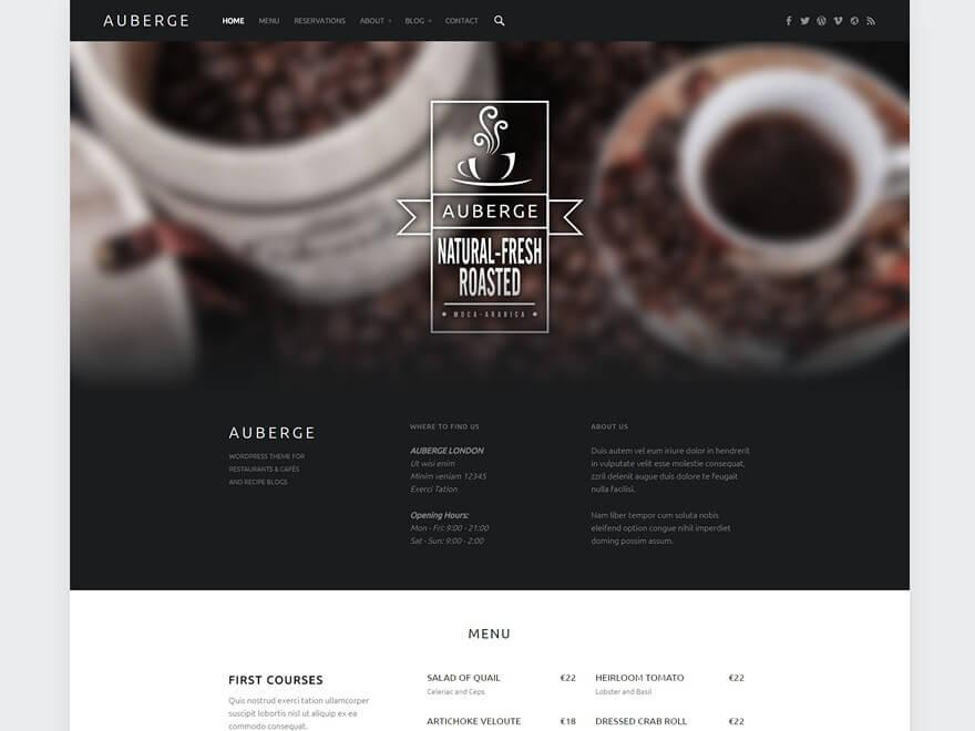 auberge-wordpress-theme