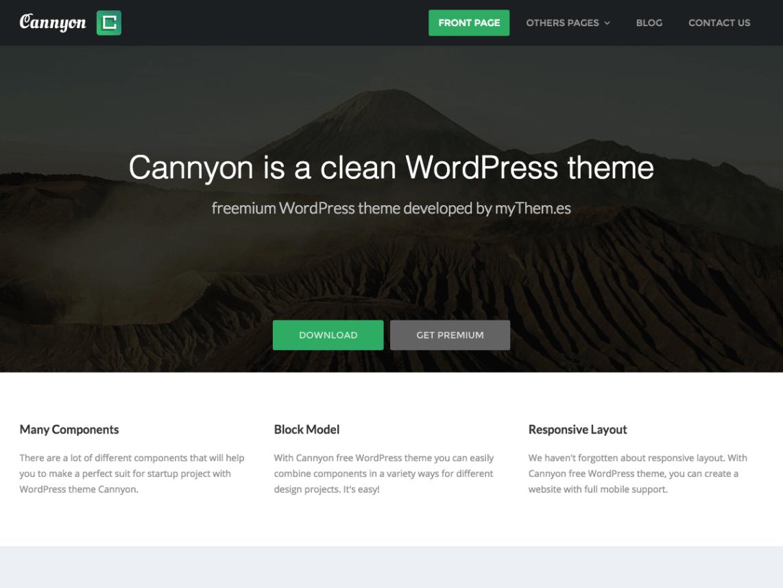 cannyon-wordpress-theme