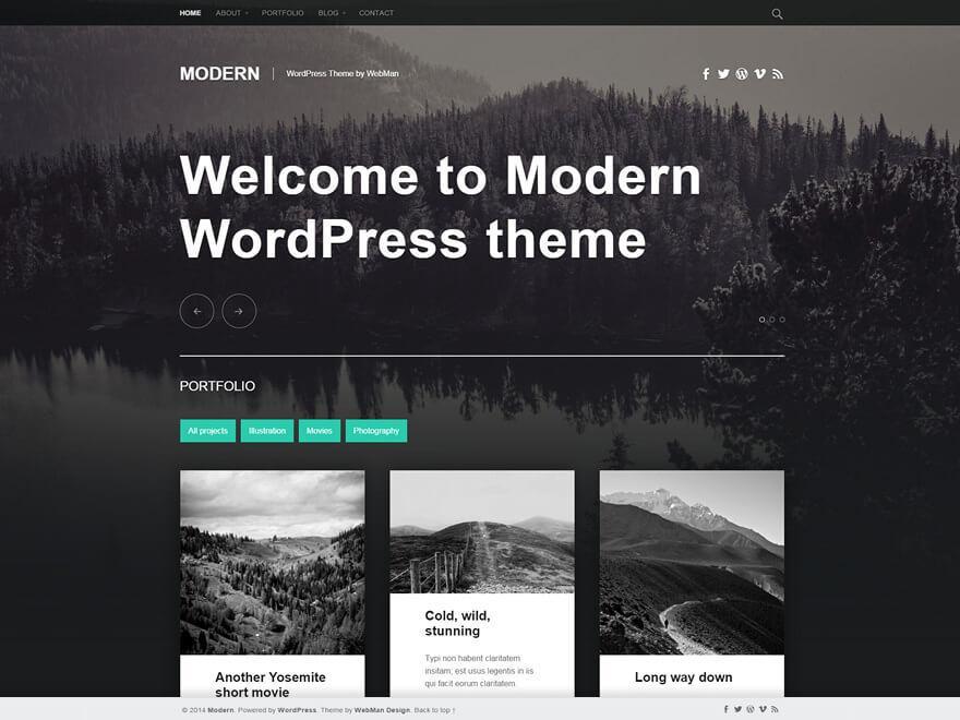 modern-wordpress-theme