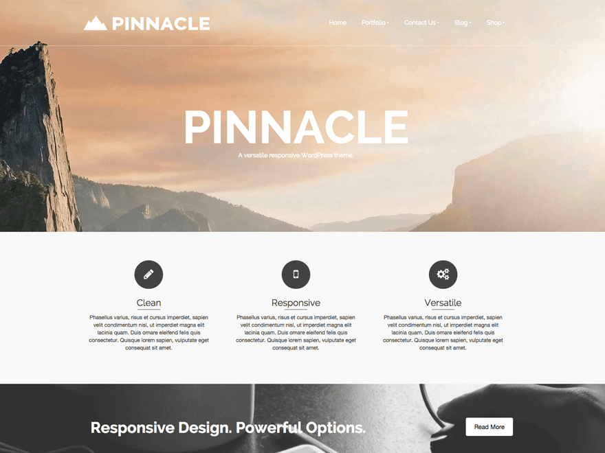 pinnacle-wordpress-theme
