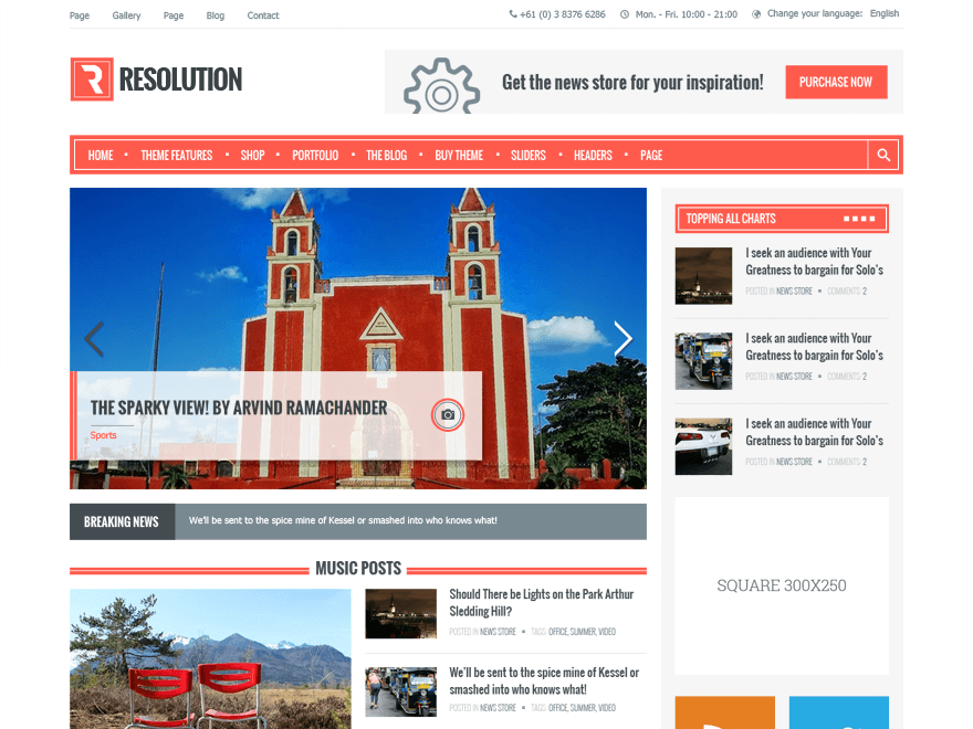 resolution-wordpress