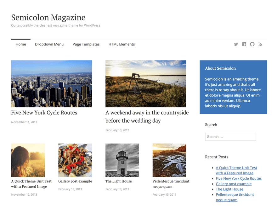 semicolon-wordpress-theme