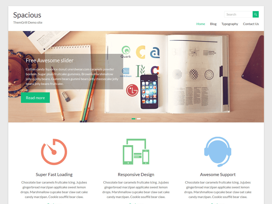 spacious-wordpress-theme