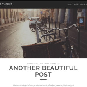tracks-wordpress-theme