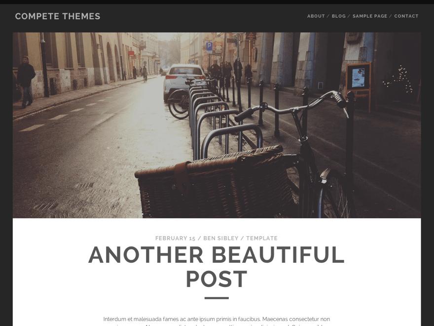 Thèmes WordPress gratuits : la sélection pour février 2016