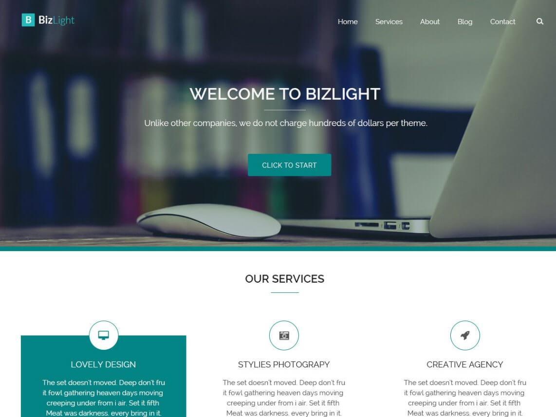 bizlight-wordpress-theme