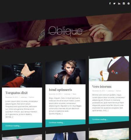 oblique-wordpress-theme