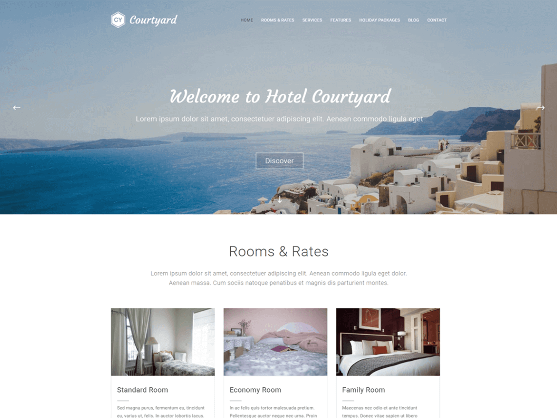 courtyard_theme-gratuit-wordpress