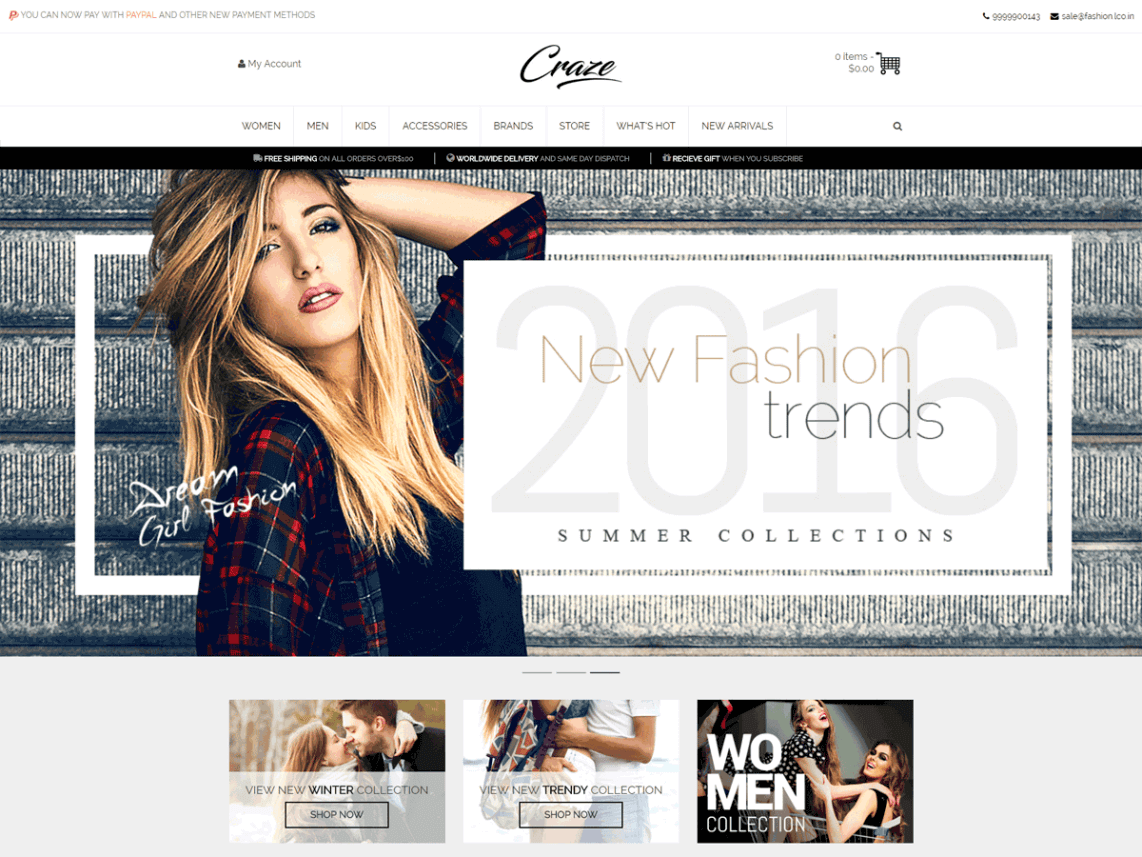 craze_theme_wordpress_gratuit