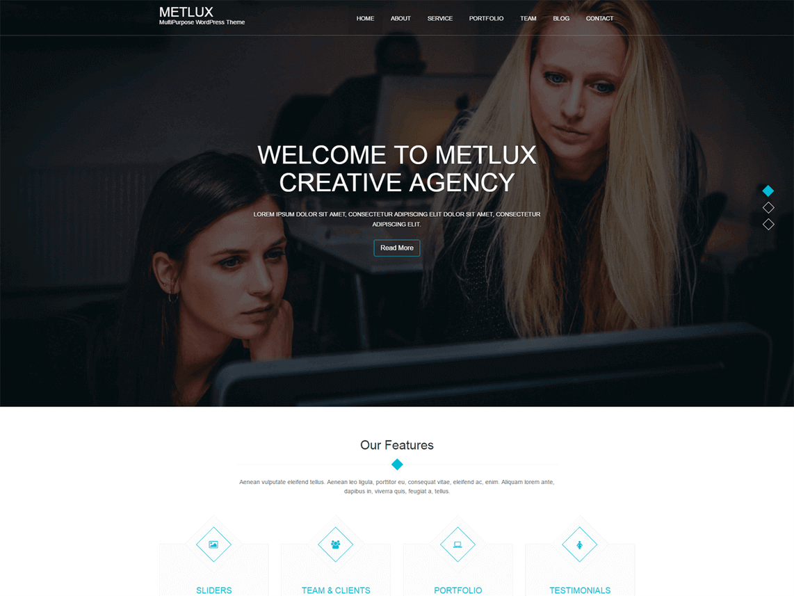 theme_gratuit_wordpress_metlux