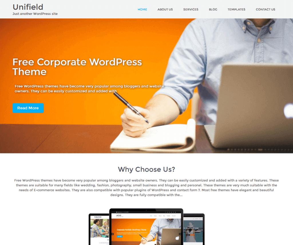 unifield_theme_wordpress_gratuit