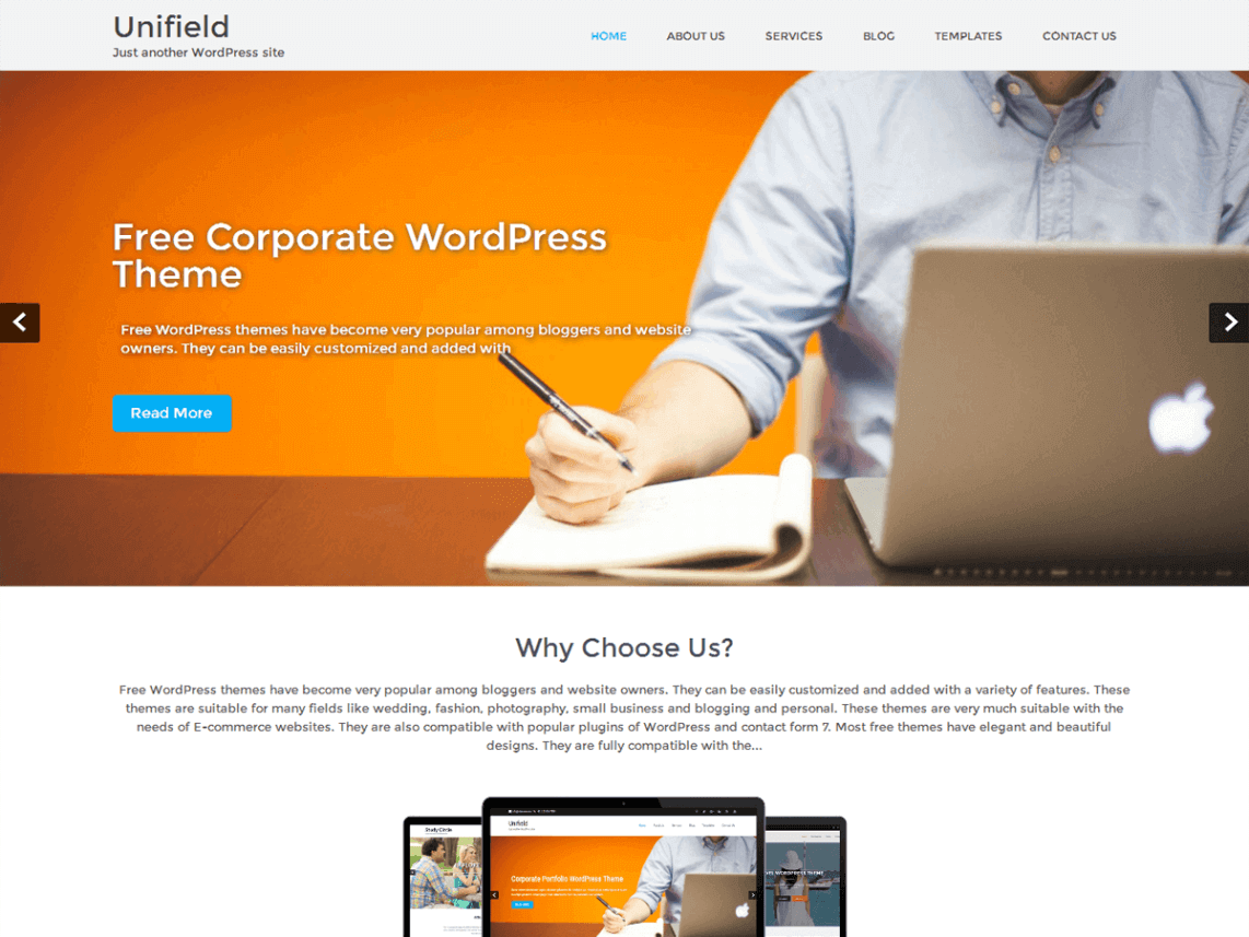 unifield_theme_wordpress_gratuit