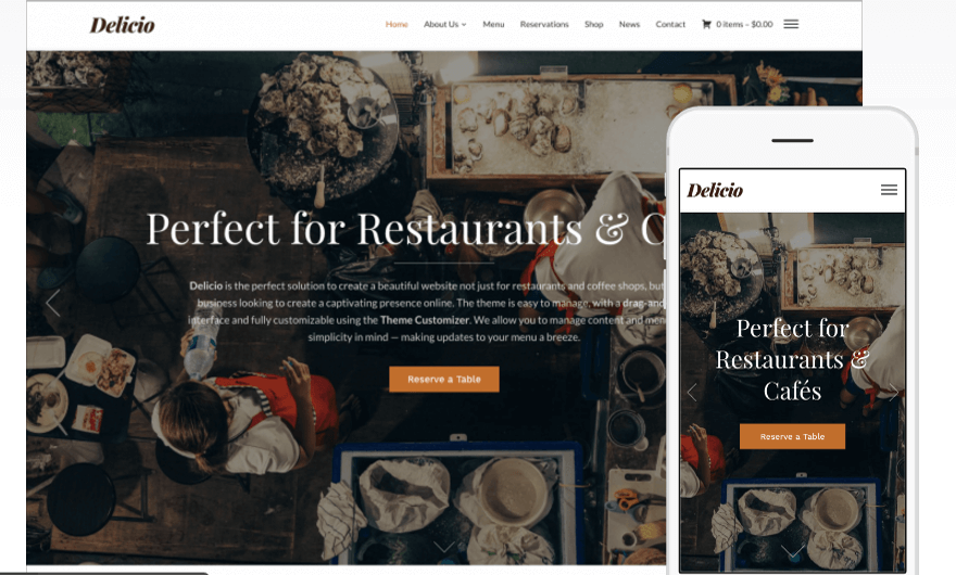 delicio-wordpress-theme-restaurant